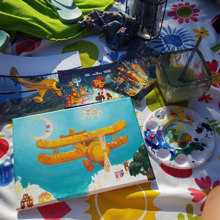 Bi-Plane painting